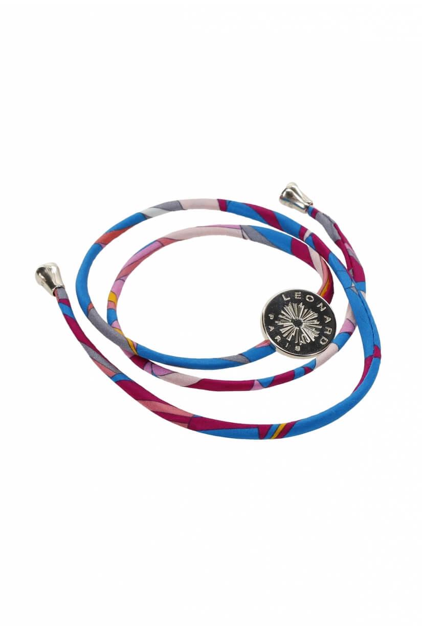 Bracelet en Jersey de Soie LEA
