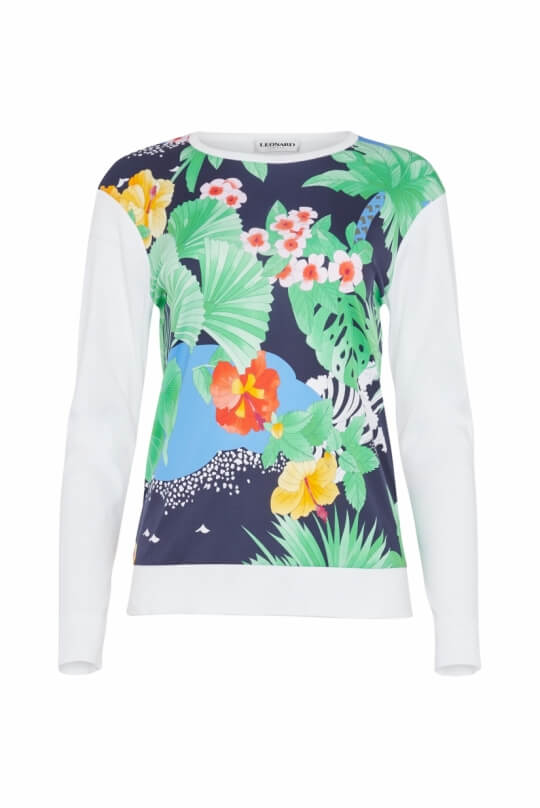SWEATER GRINON FLORAL PRINT