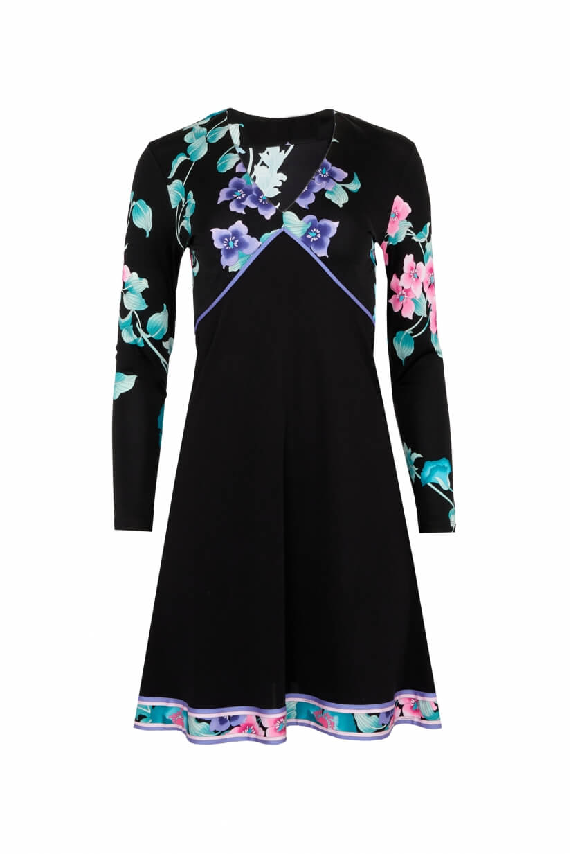 ROBE COURTE MANCHES COURTES CATLYN