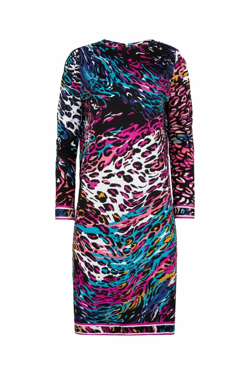 ROBE COURTE MANCHES LONGUES GIANINA
