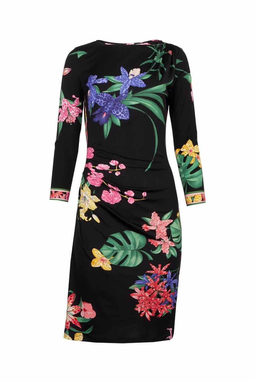 ROBE COURTE MANCHES LONGUES GEORGY