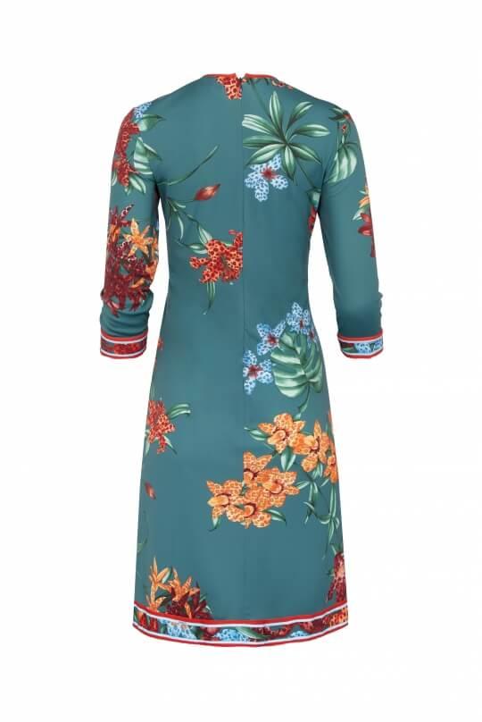ROUND NECKLINE SHORT DRESS GLENN