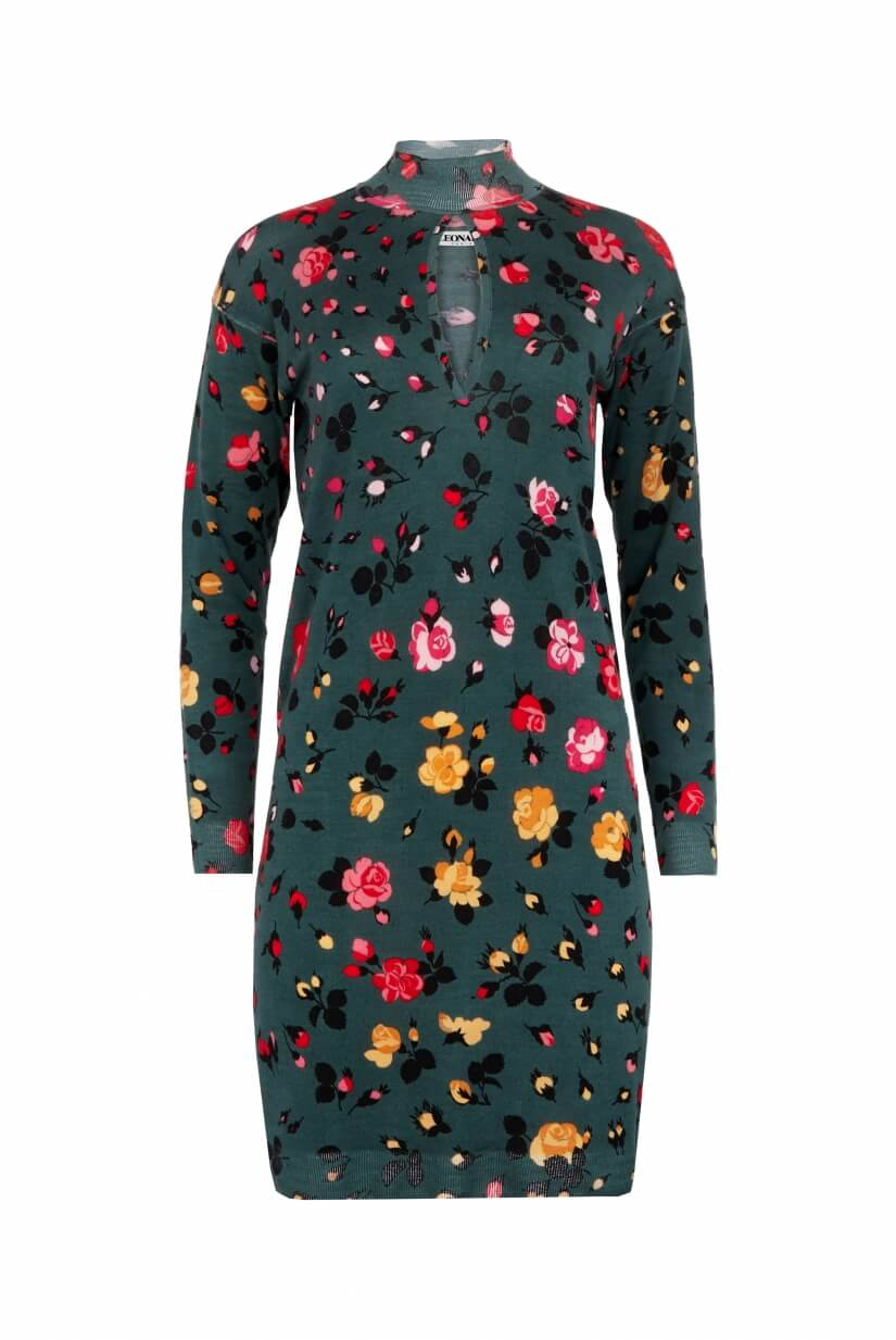 TURTLENECK SHORT DRESS ODALIE