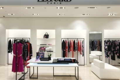 A new Leonard Paris boutique in Shinsegae Gangnam